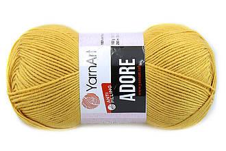 YarnArt Adore, Желтый №334