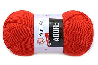YarnArt Adore, Красный №371