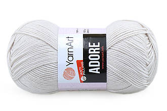 YarnArt Adore, Слоновая кость №367