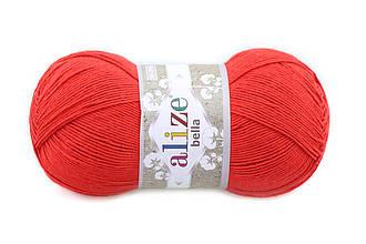 Alize Bella 100, Красный №56