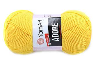 YarnArt Adore, Светло-желтый №355