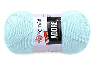 YarnArt Adore, Ментол №358