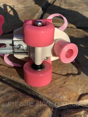 Ролики Квады раздвижные Scooter 4009A, фото 2
