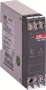 Реле контроля трехфазных цепей CM-PBE ABB L1-L2-L3 3x380-440В