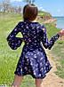 Р. 42-48 Летнее платье в цветочек на запах с длинными рукавами, фото 3
