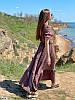 Р. 42-48 Жіноча літнє плаття максі з жатого бавовни, фото 3