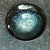 Чайная пиала Космос глина в глазури 60 мл, фото 1
