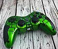 Беспроводной джойстик PS3/PS2/PS1/PC/360/TV 6в1 (Зеленый), фото 2