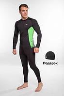 Чоловічий спортивний костюм для бігу Radical Intensive, компресійна спортивний одяг, тайтсы+рашгард, фото 1