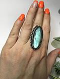 Кольцо лабрадор в серебре кольцо с лабрадором 16,2 размер Индия, фото 4