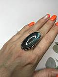 Кольцо лабрадор в серебре кольцо с лабрадором 16,2 размер Индия, фото 2