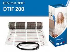 Теплый пол DEVImat 150T (1,5 кв.м., 150 Вт нагревательный мат)