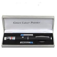 Зеленая лазерная указка BOB Laser BGP-3010-1 (532nm, 100mW, 2xAAA) + калейдоскоп