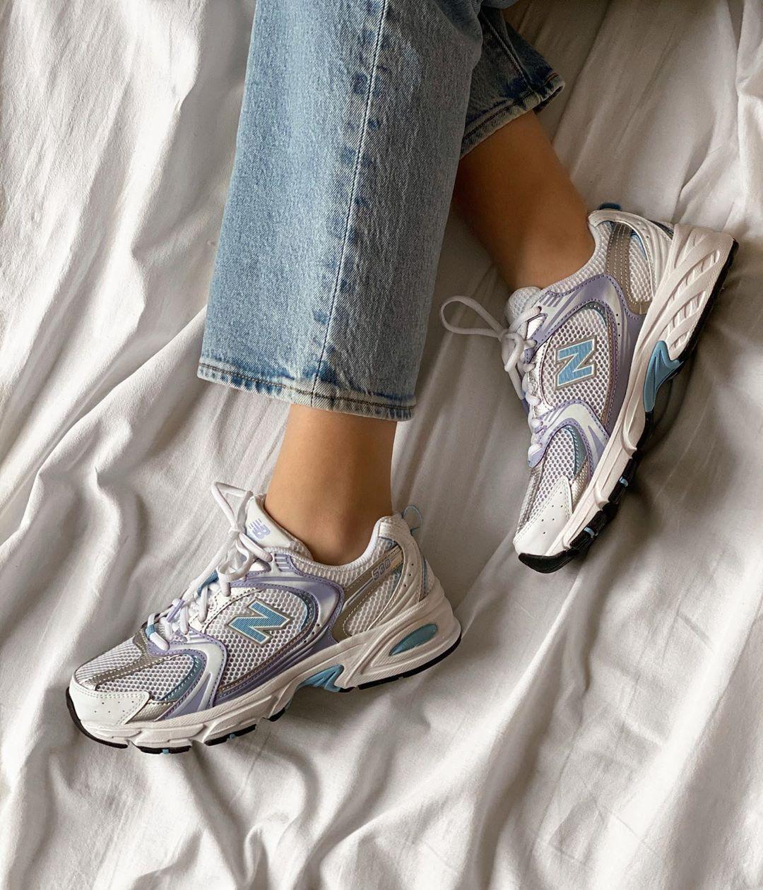 Жіночі кросівки New Balance 530 в стилі нью беланс Білі (Репліка ААА+)