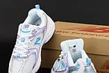 Жіночі кросівки New Balance 530 в стилі нью беланс Білі (Репліка ААА+), фото 6