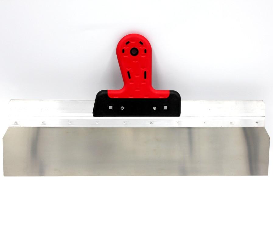 Шпатель фасадний 500/60мм алюмінієве підставу гумова ручка Htools, 19K156