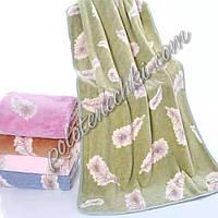 Банное полотенце микрофибра Перо (6)