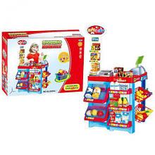 Іграшка супермаркет з касою і продуктами, на батарейках