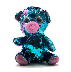 """Мягкая игрушка с пайетками """"Мишка"""" PL1904"""