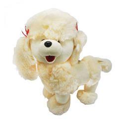 Мягкая игрушка собачка Пудель (бежевый) 4028-26