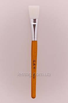 Y.R.E.  Кисть для нанесения масок, деревянная ручка, 1 шт.