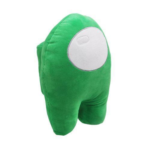 Мягкая игрушка Among Us Амонг ас, зеленый m17