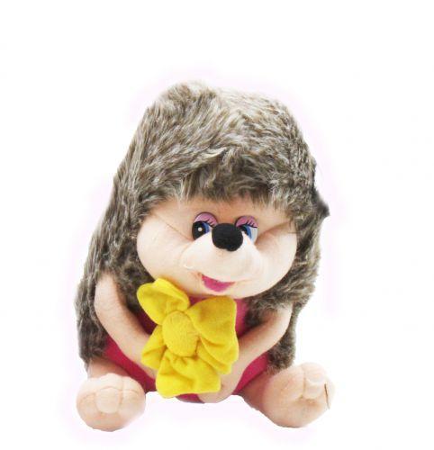 М'яка іграшка Їжачок, 22 см (співає пісеньку) рожевий F6-1439