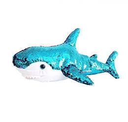 М'яка іграшка «Акула» (блискуча), 49 см AKL01P