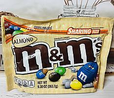 Конфеты M&M`s с миндалем внутри