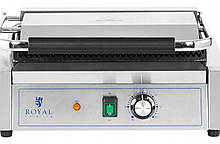 Гриль контактный прижимной  Royal 2200 Вт 33 x 22 см