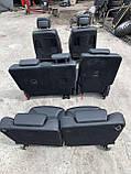 Сидіння чорні 3 ряда на Mercedes GL X164 салон Мерседес гл 164, фото 5