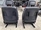 Сидіння чорні 3 ряда на Mercedes GL X164 салон Мерседес гл 164, фото 7