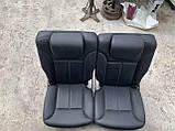 Сидіння чорні 3 ряда на Mercedes GL X164 салон Мерседес гл 164, фото 6
