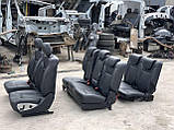Сидіння чорні 3 ряда на Mercedes GL X164 салон Мерседес гл 164, фото 2
