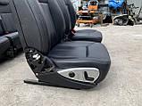Сидіння чорні 3 ряда на Mercedes GL X164 салон Мерседес гл 164, фото 8
