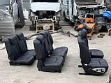 Сидіння чорні 3 ряда на Mercedes GL X164 салон Мерседес гл 164, фото 3