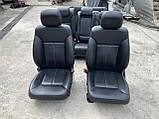 Сидіння чорні 3 ряда на Mercedes GL X164 салон Мерседес гл 164, фото 4