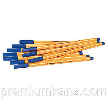 Ручка капілярна STABILO point 88 синя 88/41 (набір 10 шт)