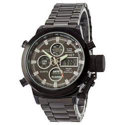 Армійські годинник AMST 3003 Metall Тактичні Протиударний наручні Амст Чоловічі Військові ААА Метал