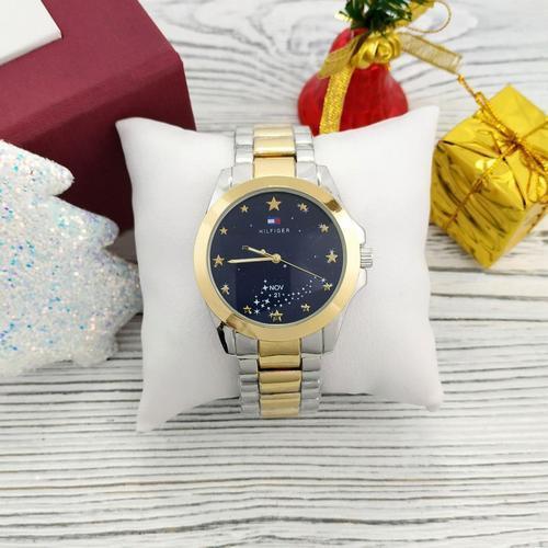 Наручные женские часы Tommy Hilfiger Gold классические Годинник Томми Хилфигер на руку Кварцевые 100% КАЧЕСТВО