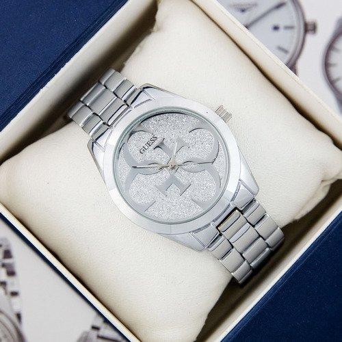 Наручные часы Guess 6990 All Silver Женские серебро Брендовые на руку Кварцевые 100% КАЧЕСТВО!