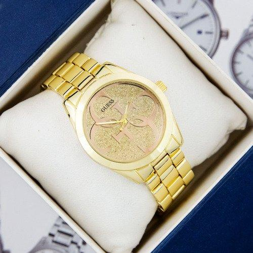 Наручний годинник Guess 6990 Gold Брендові Жіночі золоті годинник на руку Кварцові 100% ЯКІСТЬ!