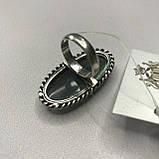 Кольцо лабрадор в серебре кольцо с лабрадором 16,2 размер Индия, фото 8