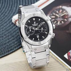 Наручные часы Hublot Classic Fusion Мужские годинник NEW Швейцарские на руку Кварцевые ТОП!