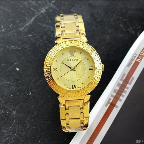 Наручные женские часы Versace Gold классические Годинник кельвин кляйн на руку Кварцевые 100% КАЧЕСТВО!