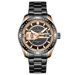 Наручные часы Naviforce NF9157 Мужские годинник NEW Швейцарские Бренд на руку Кварцевые ТОП!