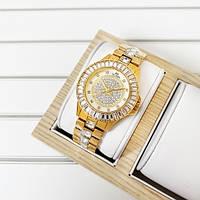 Наручные женские часы BeeSister All Gold классические Годинник золотойБрендовые на руку кварцевые NEW!