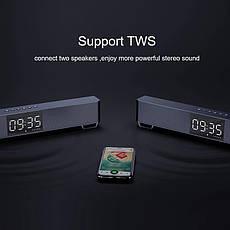 Mifa K3 саундбар беспроводная Bluetooth колонка c часами, фото 2