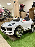 Дитячий електромобіль Porsche M 3178 EBLR Порше, фото 2
