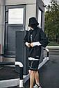 Кимоно чёрного цвета от бренда ТУР модель Хиори,размер S,M,L,XL, фото 2